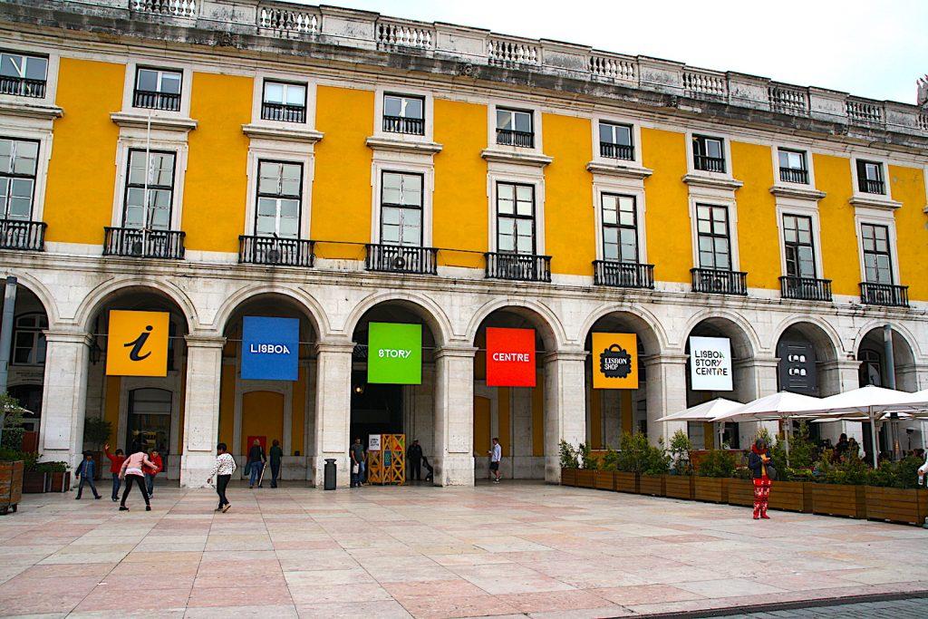 Ask me Lisboa vvv buitenkant
