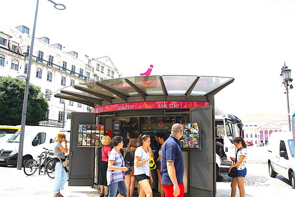 Ask Me Lisboa at Rossio Square