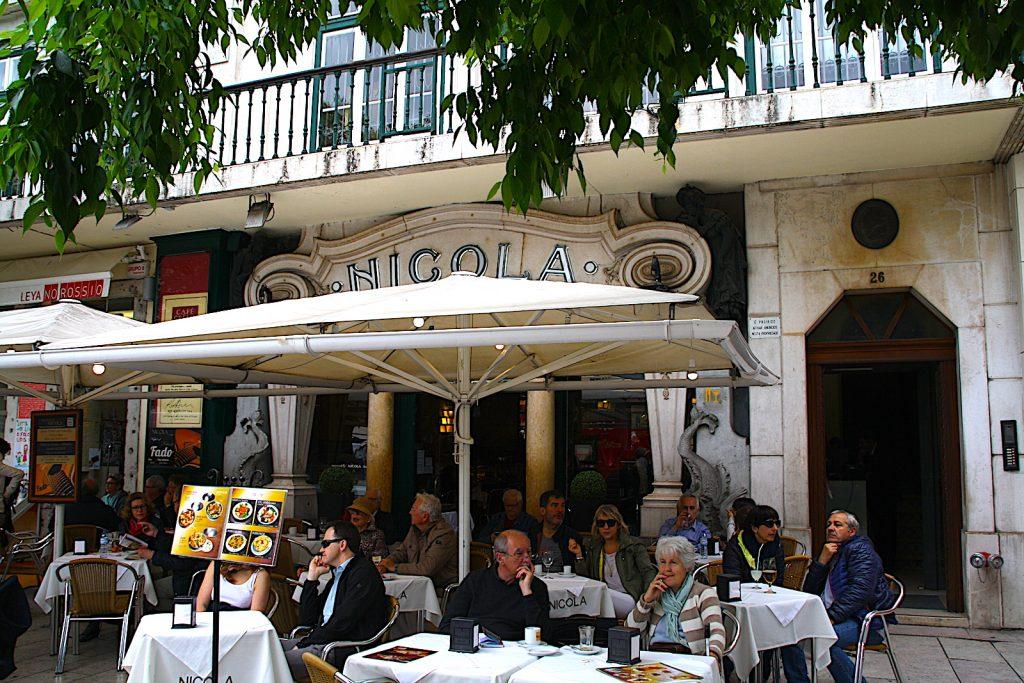 Cafe Nicola terrace