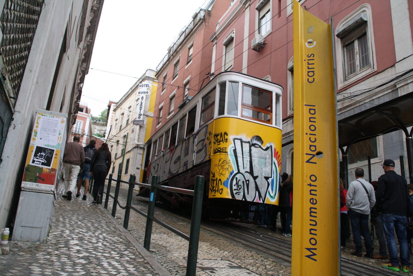 Ascendor da Gloria, Lissabon