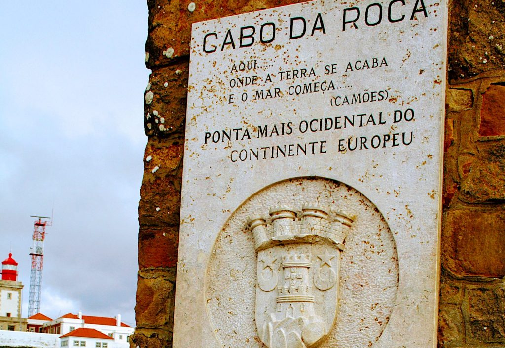 Monument bij Cabo da Roca
