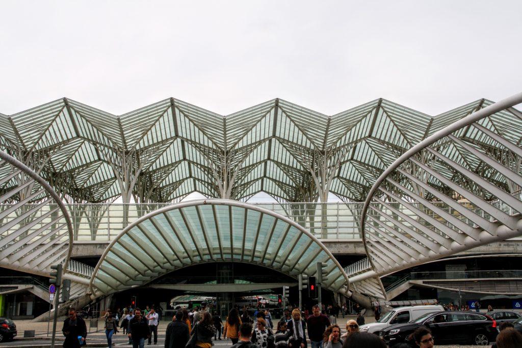 Estação do Oriente treinstation, Lissabon