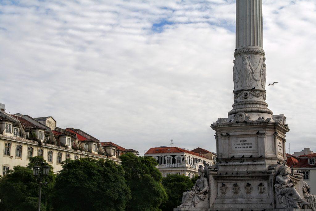 Plein Rossio - Praça Dom Pedro IV, Lissabon