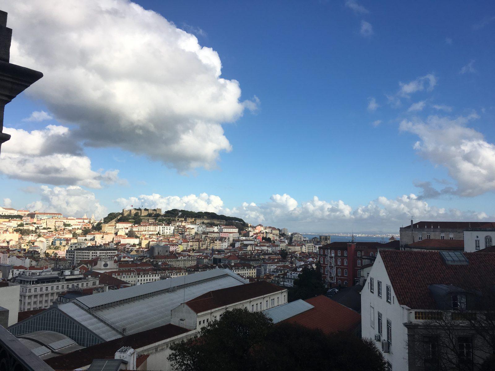 Stadsgezicht: wijken in Lissabon