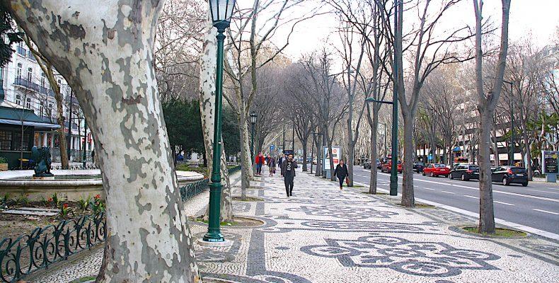 Avenida Liberdade straat en weg