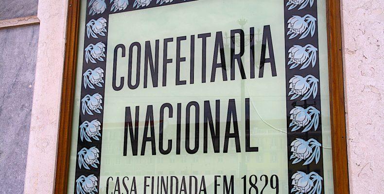 Confeitaria NAcional plakkaat