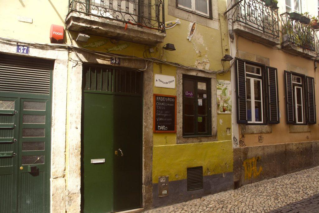 Fado bar A Tasca Do Chico, Lissabon