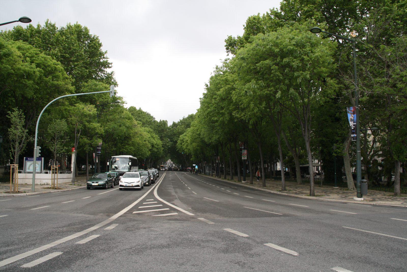 Avenida da Liberdade, Lissabon