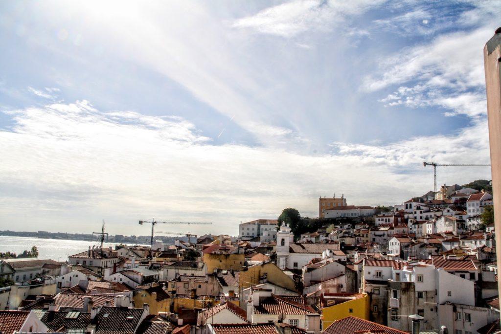 Overzicht miradouros Lissabon