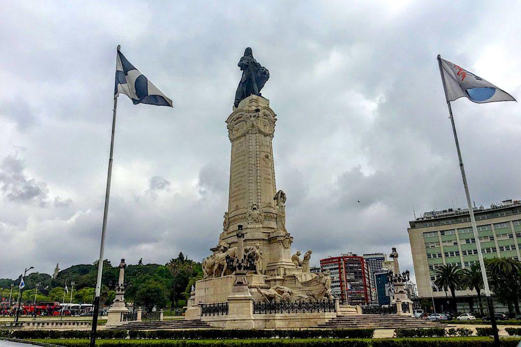 Marques de Pombal plein in Lissabon