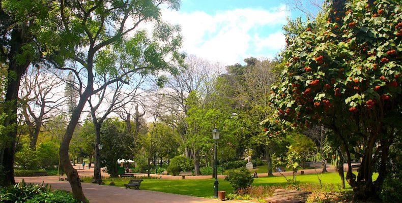 Park Jardim da Estrela, Lissabon