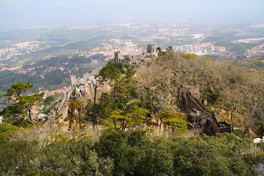 Castelo dos mouros entrance