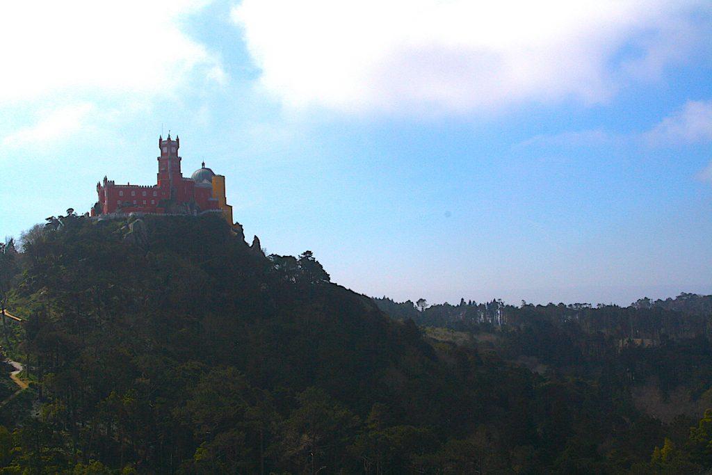 Castelo dos mouros pena paleis