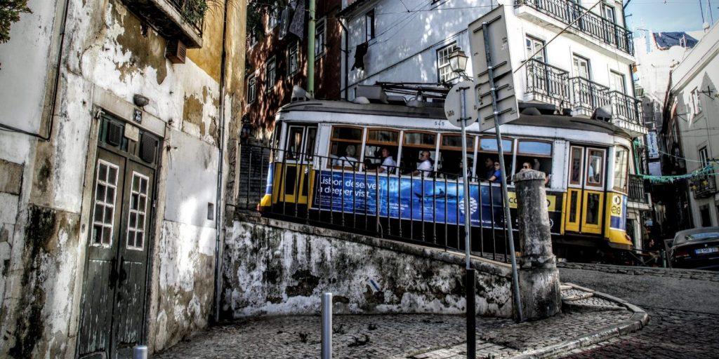 Alfama tram 28 cropped