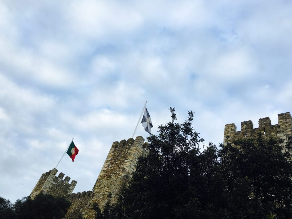 Castelo Sao Jorge, Lissabon