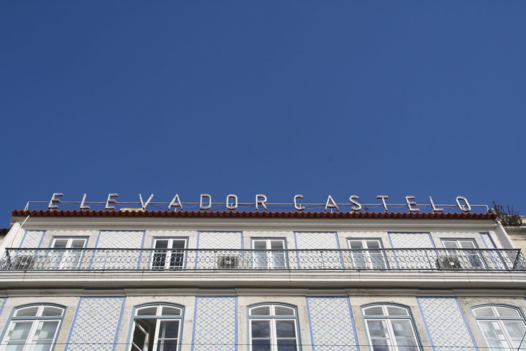 Elevador Castelo, Lissabon