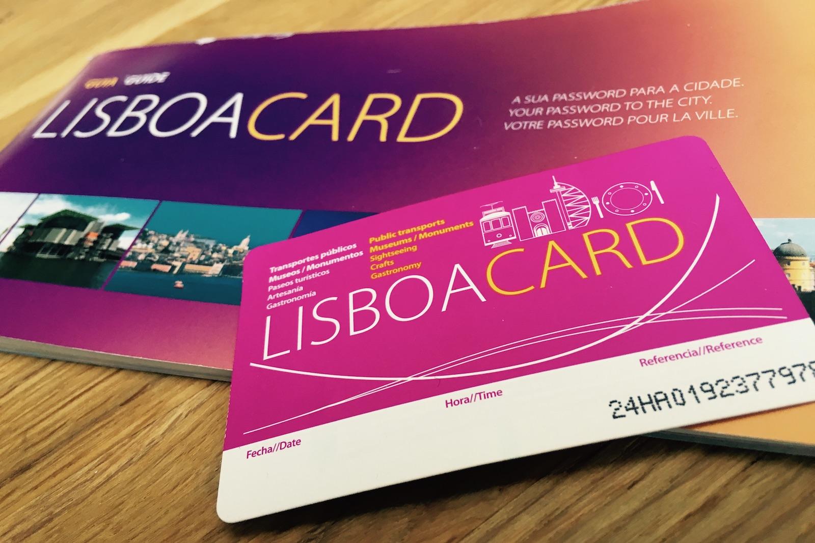 Lisboa Card voor de metro in Lissabon
