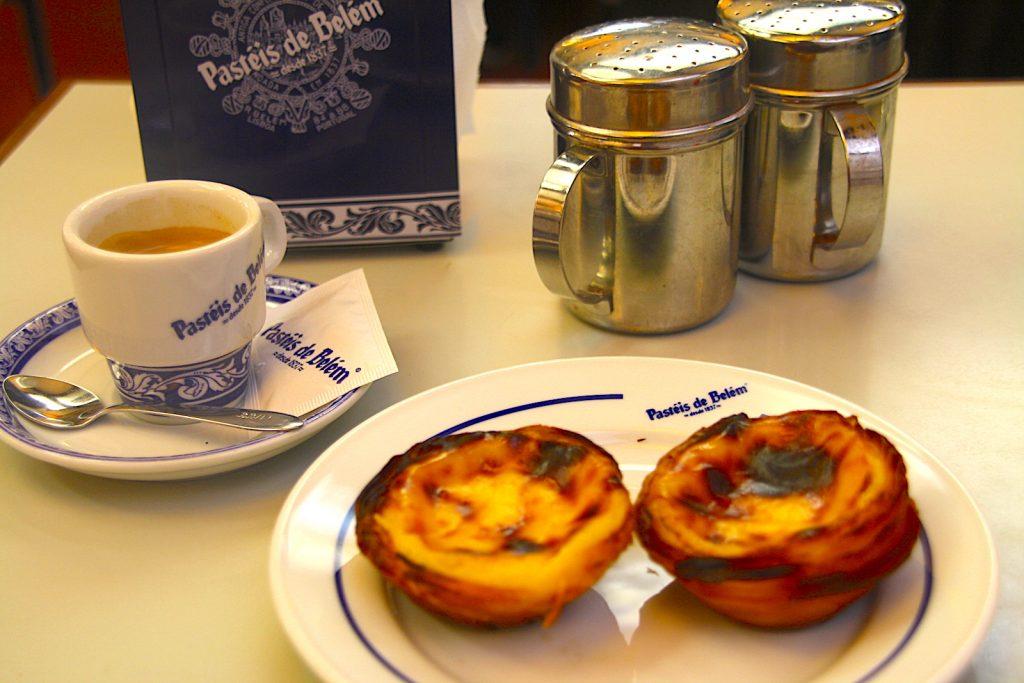 Pastéis de Belem, die ursprünglichen Pasteis de Nata in Lissabon