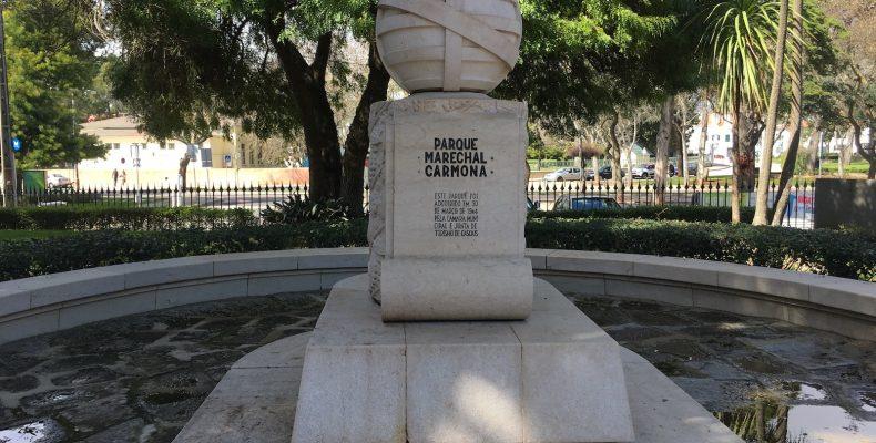Parque Marechal Carmona - ingang