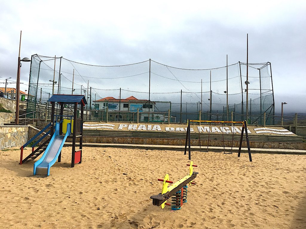 Praia das macas - speeltuin
