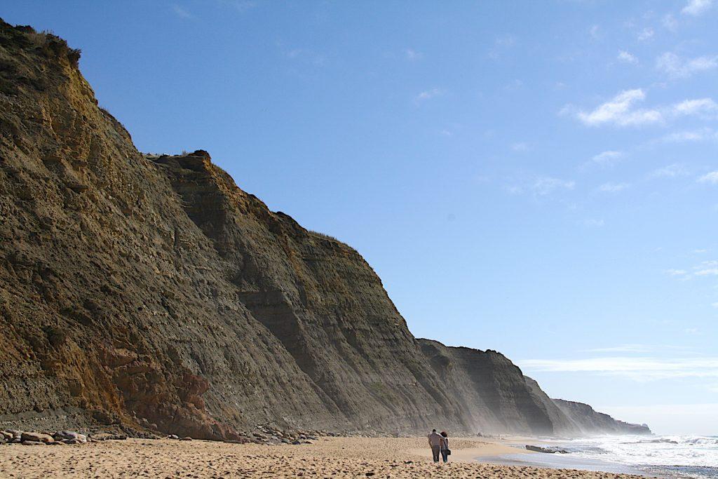 Praia do Maigoto rotsen
