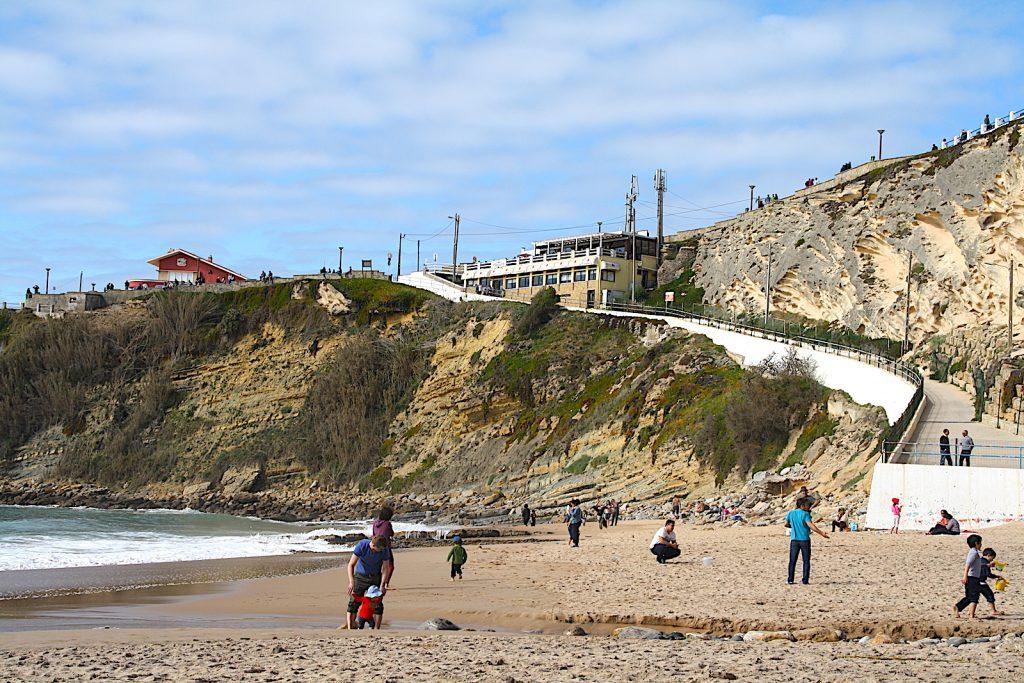 Praia do Maigoto vader en kind