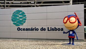 Oceanário de Lisboa, aquarium in Lissabon