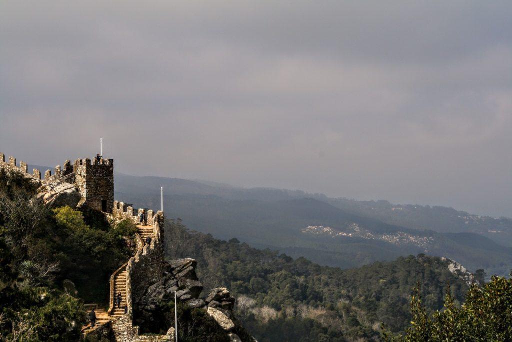 Uitzicht Castelo dos Mouros, Sintra