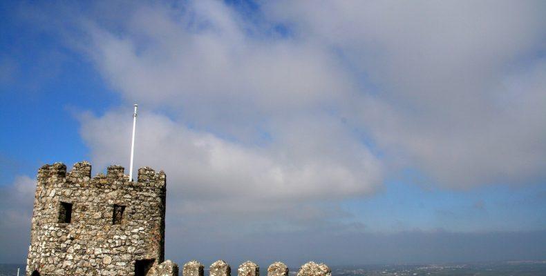 Uitzicht vanaf Castelo dos Mouros bij Sintra