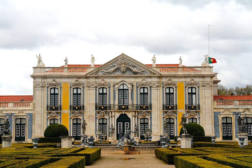 Palacio Nacional de Queluz in Lissabon