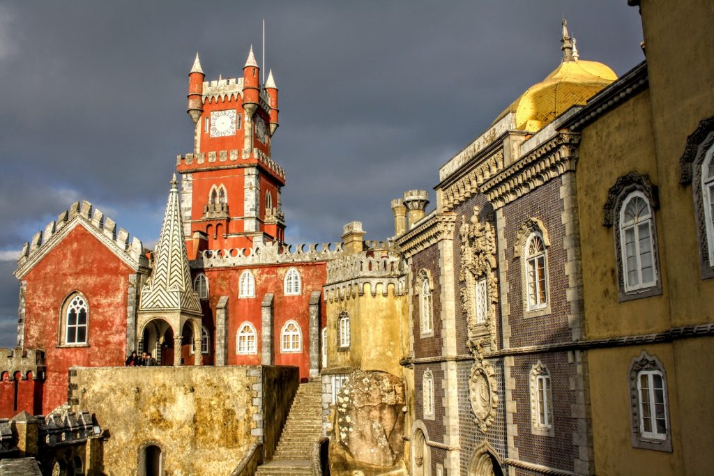 Palácio National da Pena in Parques de Sintra