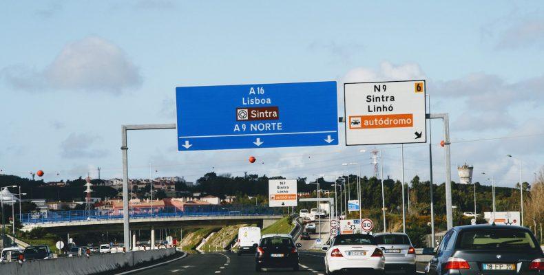 Snelwegen rond Lissabon