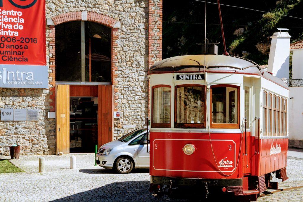 Tram van Sintra naar Praia das Maçãs