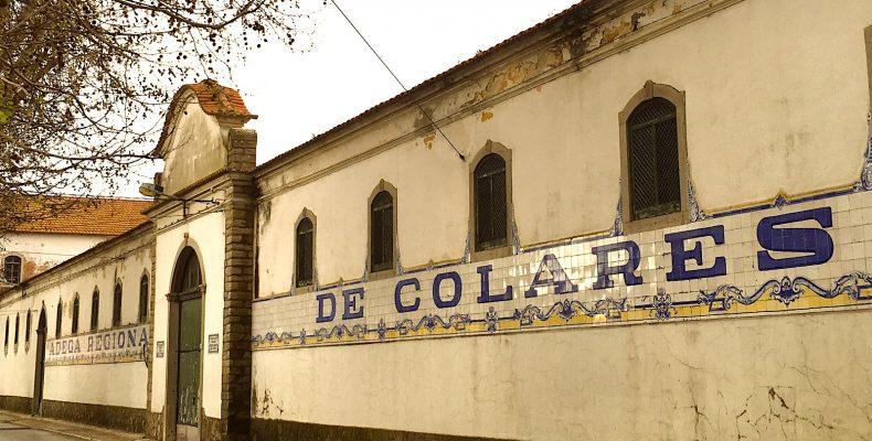 Wijncooperatief Adega Regional de Colares, zijkant