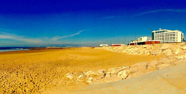 Costa da Caparica, bij Lissabon