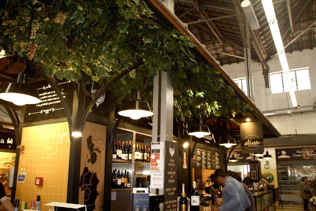Mercado de Campo de Ourique interieur