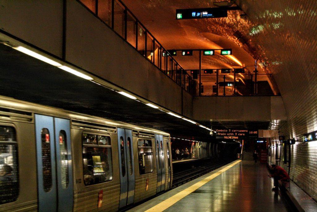 Metro van Lissabon