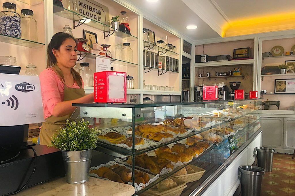 Toonbank van Pastelaria Aloma, Lissabon