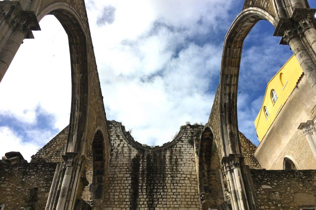 Convento do Carmo, westkant