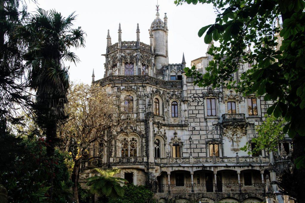 Quinta da Regaleira van dichtbij, Sintra