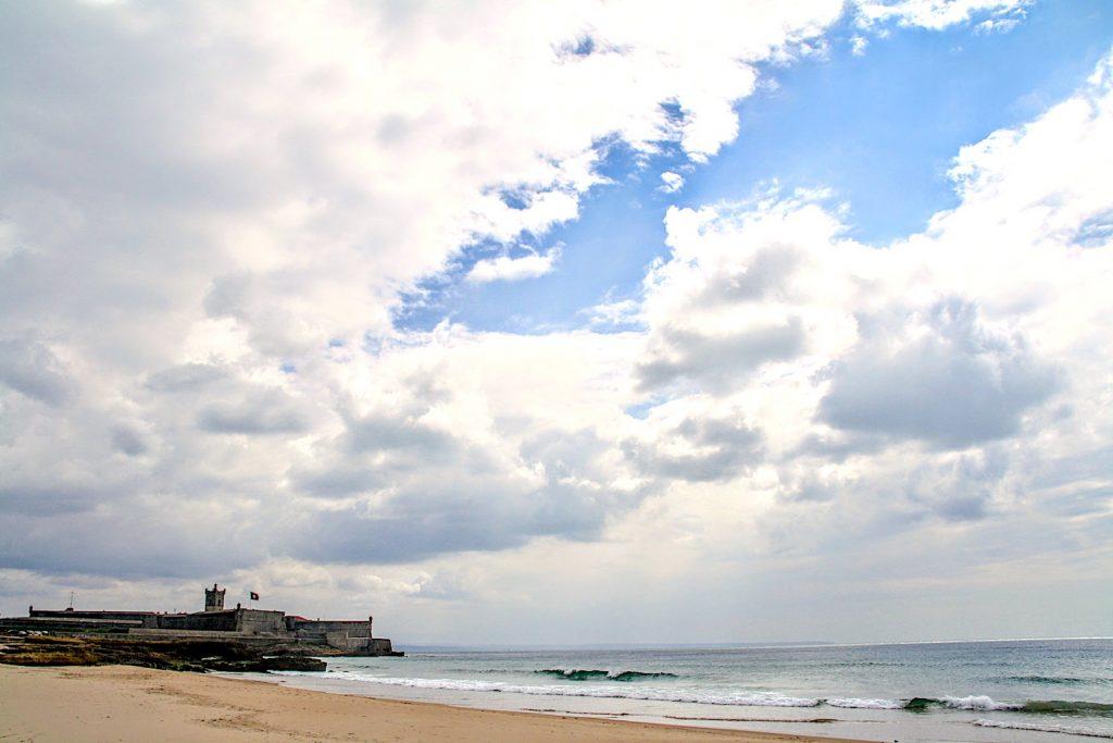 Forte de São Julião da Barra op het strand bij Carcavelos