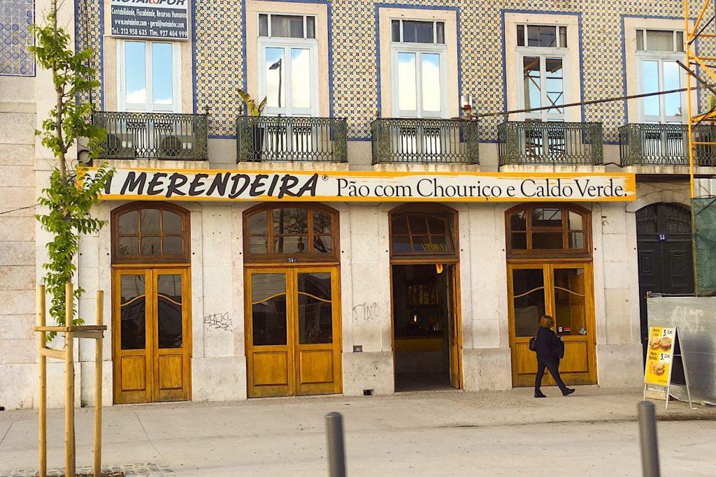 A Merendeira bakery, Lisbon