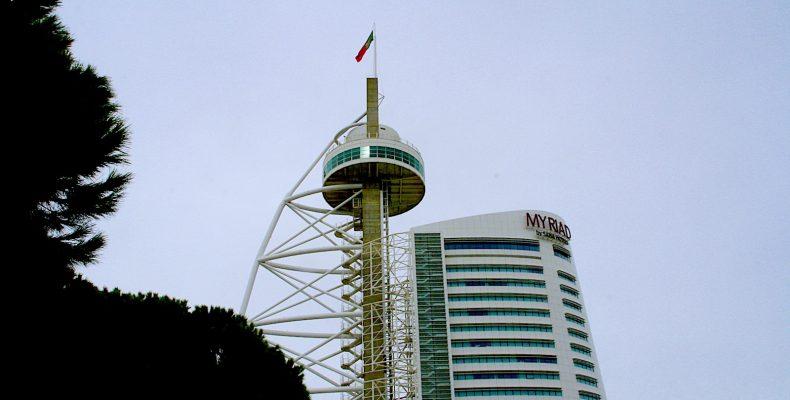 Torre Vasco Da Gama, Lissabon