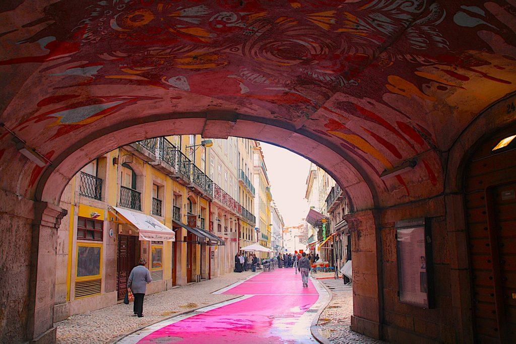 Rua Nova do Carvalho, Pink Street, Lissabon