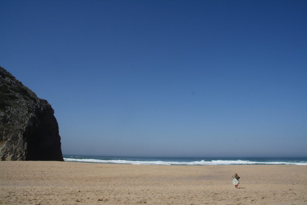 Mit Kinderen nach Praia da Adraga
