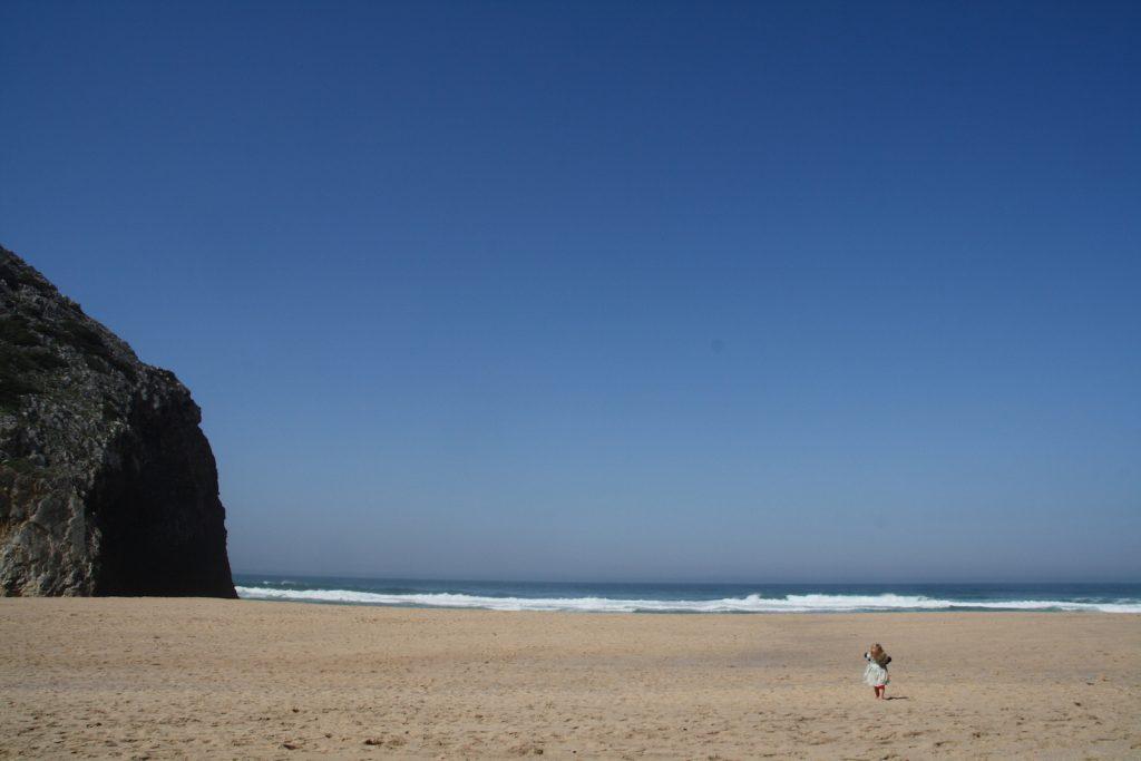 Met kinderen naar Praia da Adraga