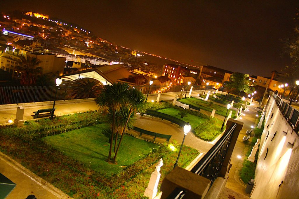 Park Jardim de São Pedro de Alcântara, LIssabon