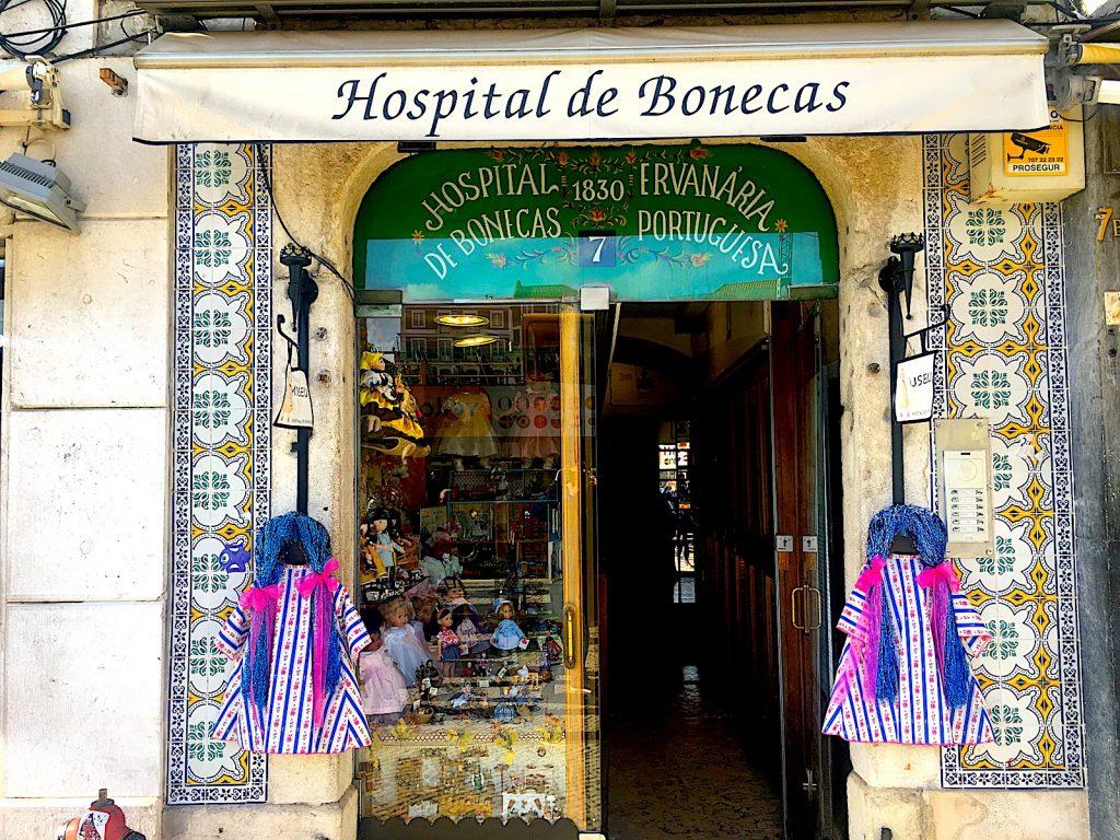 Hospitaldebonecas ingang