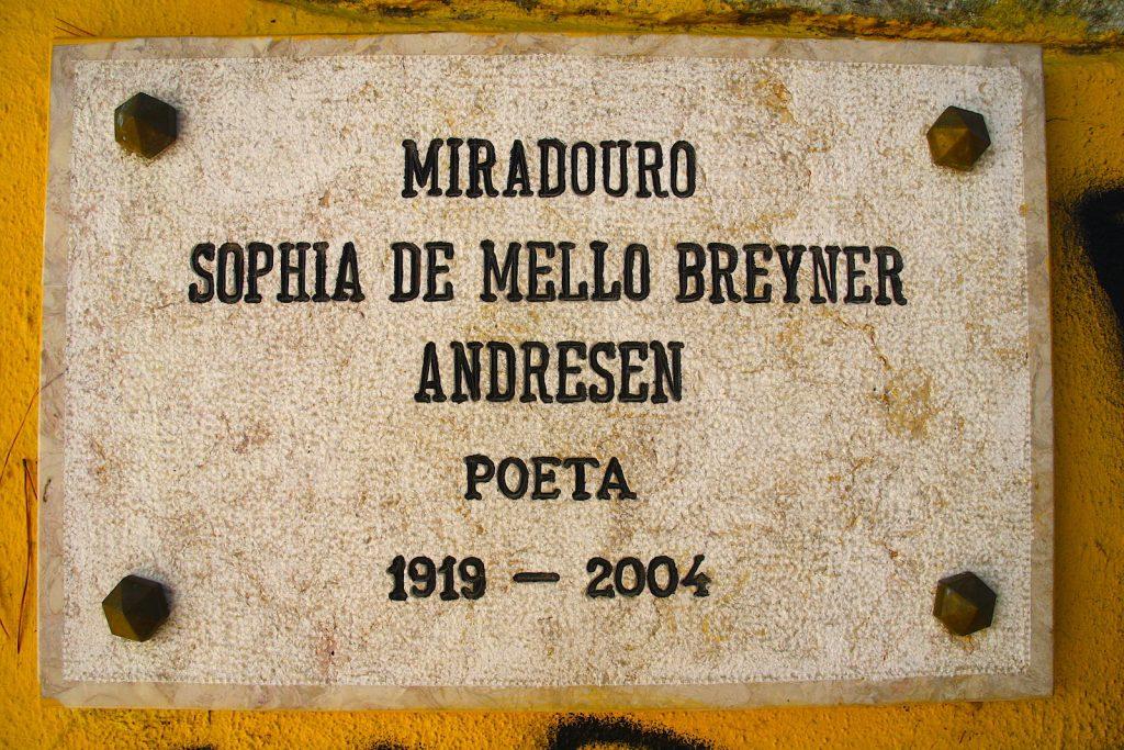 Miradouro Graca plakaat Sophia