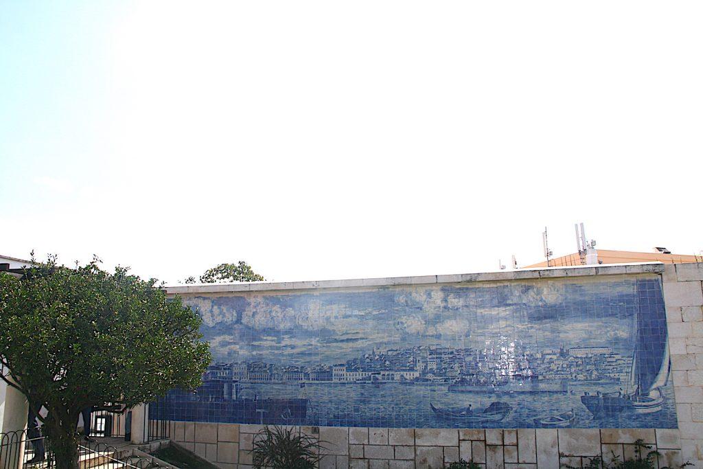 Miradouro Santa Luzia azuljos
